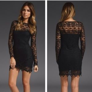 💘SALE💘For Love & Lemons scarlet lace dress